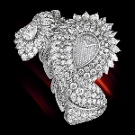 Paisley Diamond Bracelet Watch