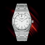Audemars Piguet Royal Oak Date (SS / White)