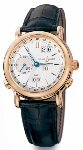 Ulysse Nardin GMT Perpetual (RG / Silver / Leather)