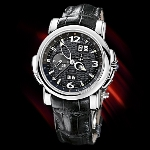 Ulysse Nardin GMT Perpetual (WG / Black / Leather)