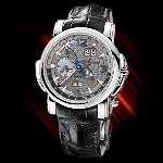 Ulysse Nardin GMT Perpetual (WG / Grey / Leather)