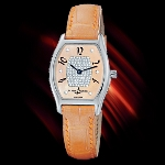 Ulysse Nardin Michelangelo Lady (SS / Honey-Dmnd / Leather)