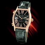 Ulysse Nardin Michelangelo UTC (RG / Black-Roman / Leather)