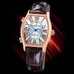 Ulysse Nardin Michelangelo UTC (RG / Silver-Roman / Leather)