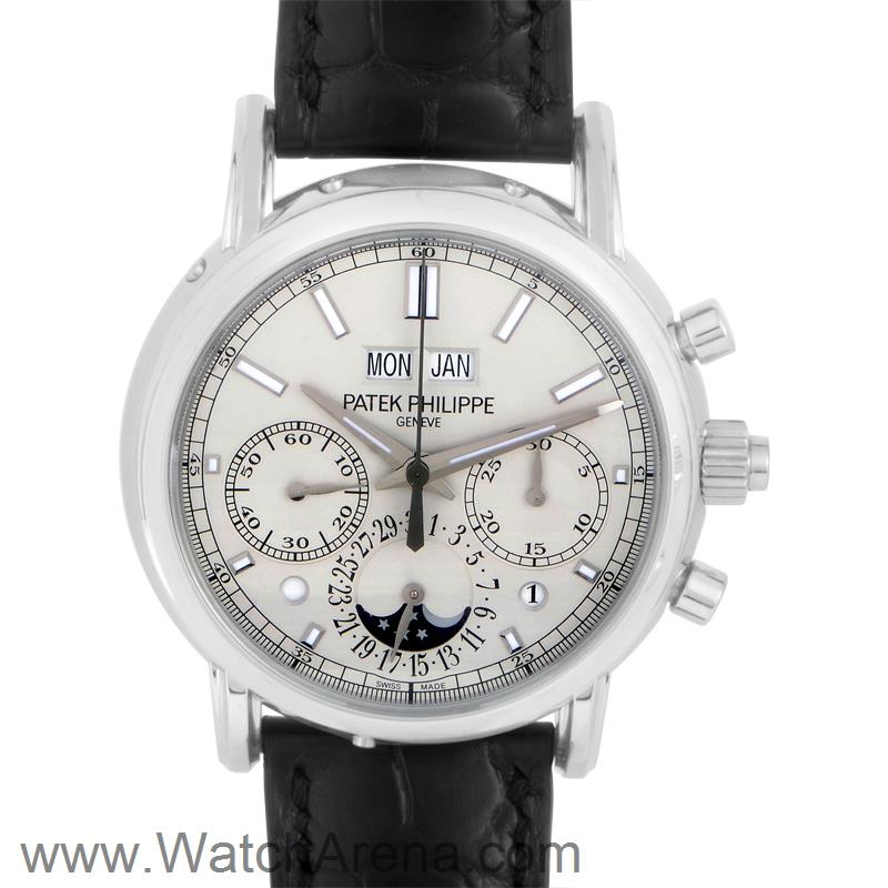 hot sale online 8cf3d 64f75 Patek Philippe Split Seconds Chronograph & Perpetual Calendar 5204P-010 at  www.watcharena.com