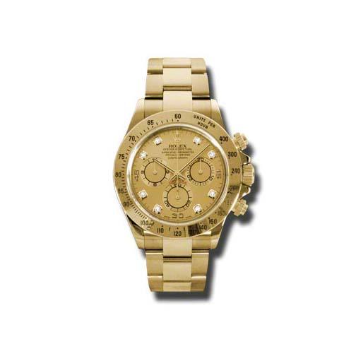 Rolex Daytona Yellow Gold 116528 Chd