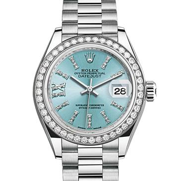 Oyster Perpetual Lady Datejust 28 279136rbr Platinum